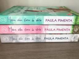 Livros Minha Vida Fora de Série - Paula Pimenta