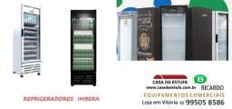 refrigeradores visa cooller imbera slim e 450 litros= ano garantia nova com nf
