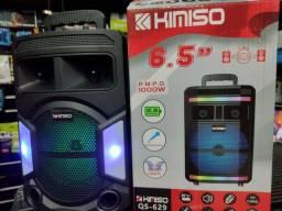 Super caixa de som 1000w completa com Bluetooth rádio entrada de Microfone e pendrive