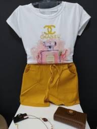 Título do anúncio: Tshirt / shorts