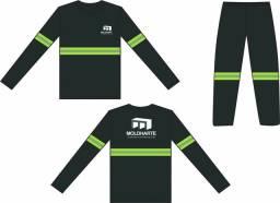 Uniformes para Serviços ao Sol Calças Reforçadas e Camisas Malha fria antipiling