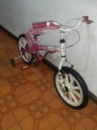 BIKE aro 16 infantil menina com rodinhas Caloi Barbie ! Wats 99751.4493