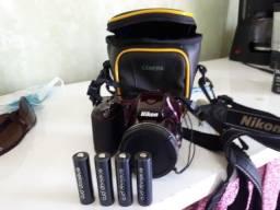 Câmera Digital Nikon Coolplix L 820 Raridade