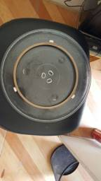 Prato e rodízios para Micro-ondas 12cm diametro, todas as marcas