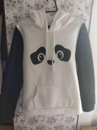 Moletom Panda com Orelhas