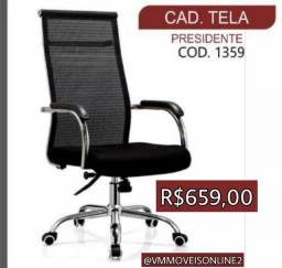 Cadeira Office Presidente Entregamos Sem Taxas em Goiânia e Aparecida