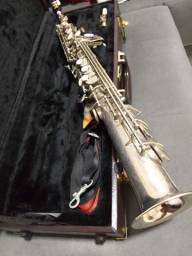 Sax soprano reto Royden afinado só pegar e toca para exigentes
