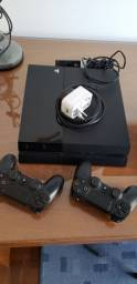 Sony playstation 4 com 2 controles