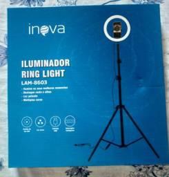 Ring light +tripé 2.10mt INOVA