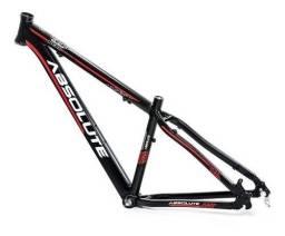 Título do anúncio: Quadro Bike Mtb Absolute nero Novo Sem Uso Nota Fiscal