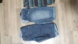 CALÇAS E SHORTS  jeans de 10 a 14 anos MASCULINO *