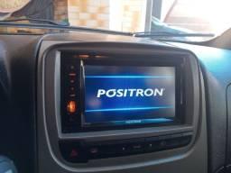 Central multimídia pósitron já com moldura para  Fiat ideia a partir de 2012