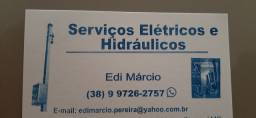 Eletricista e bombeiro hidráulico