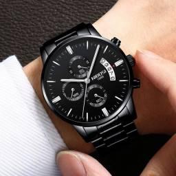 ?Original Box?NIBOSI Relogio Masculino Men Watches Luxury Famous Top Brand Men's