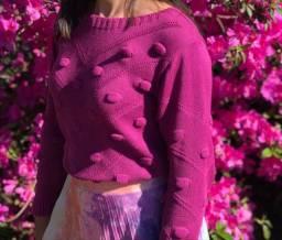 Título do anúncio: Suéter tricô
