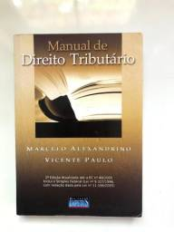 Livro Manual de Direito Tributário