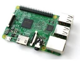Kit Raspberry Pi3 B, Case e Dissipadores de Calor