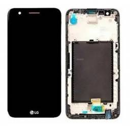 Título do anúncio: Tela Touch Frontal LG K10 2017 Com Aro