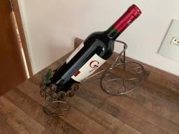 Porta garrafa de vinho