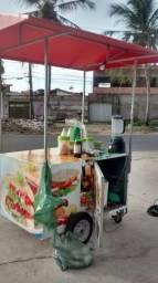 Vendo carrinho de guaraná completo