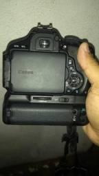 Vendo camera mais flash yongnuo 1.400 tudo