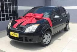Ford- Fiesta Sedan 1.0 8V Flex Entrada de R$1.690,00 com parcelas de R$431.00 - 2008