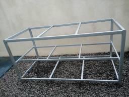 Base de ferro para mesa industrial