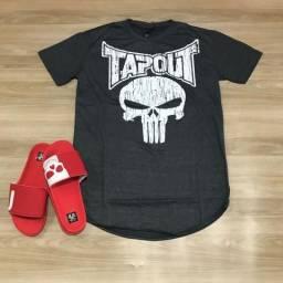 Camisetas Tapout Black Skull Pretorian 982212491e5f2