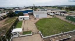 Barracão comercial para locação, Distrito Industrial, Rio Claro.