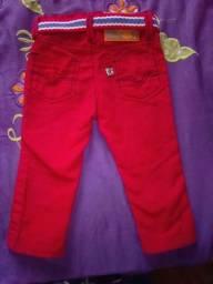 Calça jeans masculino infantil