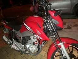 Moto CG Titan 160 Cilindrada - 2016
