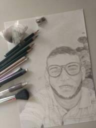Faço encomendas de desenhos