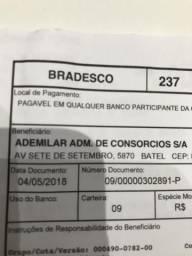 Consórcio ademilar, 320 mil. 35 pagas
