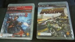 PS3 - Uncharted 2 / MotorStorm Apocalypse (Novos - Lacrados), usado comprar usado  Canoas