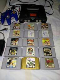 Nintendo 64 so vendo o lote!!!