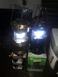 Luminárias que ser também como carregador de celular