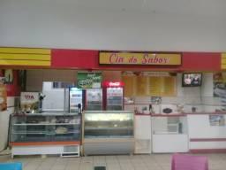 Lanchonete restaurante dentro da faao