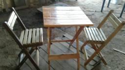Mesa bar 4 cadeiras