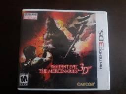 (Vendo ou troco) Resident Evil: The Mercenaries 3D - Nintendo 3DS
