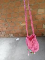 Vendo bolsinha de crochê