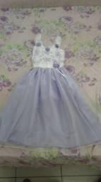 Vestido Fino Infantil Princesa 8 Anos