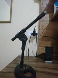 Suporte Pedestal Microfone Mesa Cachimbo Hunter By Torelli
