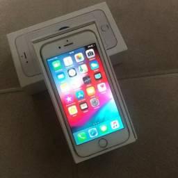 Apple Iphone 6S 16GB Silver Caixa Completa e Nota fiscal
