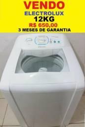 Máquina de Lavar 12kg Electrolux Turbo Economia 127v