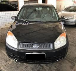 Ford Fiesta Sedan 1.6 Preto Completo - 2009
