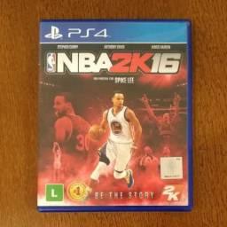 Jogo PS4 - NBA 2K16 comprar usado  Araraquara