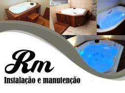 Instalacao de banheira de hidro massagem* melhor preço é qualidade