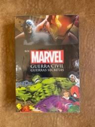 Box Marvel: Guerra Civil + Guerras Secretas + Pôster Exclusivo