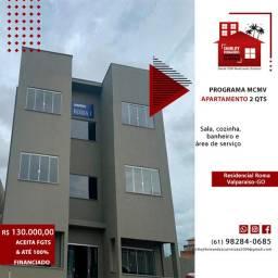 Apartamento 70m² Próximo à BR 040 Última Unidade - Residencial Roma