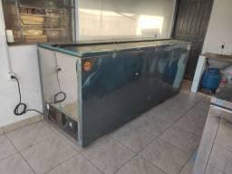 Big freezer 2000L inox